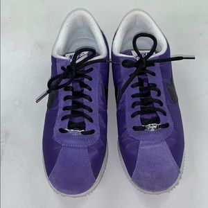 Purple Nike Cortez - Nylon and Suede